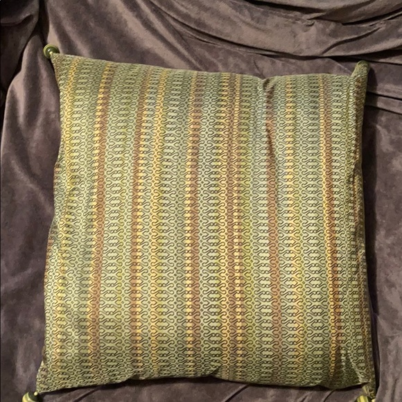 Pier 1 pillow. Green